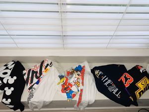 Lot of mens T-shirts (long sleeve and short sleeve) for Sale in Elk Grove, CA
