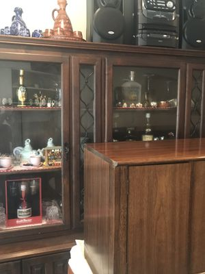 antique dining armoire from Spain for Sale in Fairfax, VA