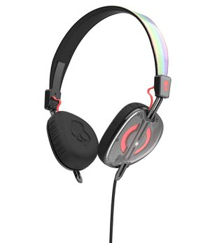 Skullcandy S5AVHX-461 Knockout Women's On-Ear Headphones with Mic & Remote, Mash-Up/Multi/Coral for Sale in Diamond Bar, CA