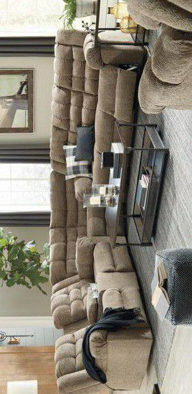 SPECIAL] Workhorse Cocoa Reclining Sectional for Sale in Pflugerville, TX