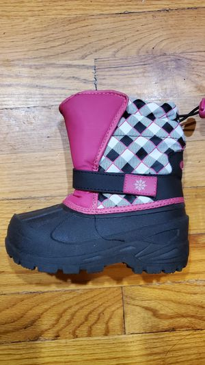 Kid's snow boots one pair size 10 and one pairsize 9 for Sale in Glenarden, MD