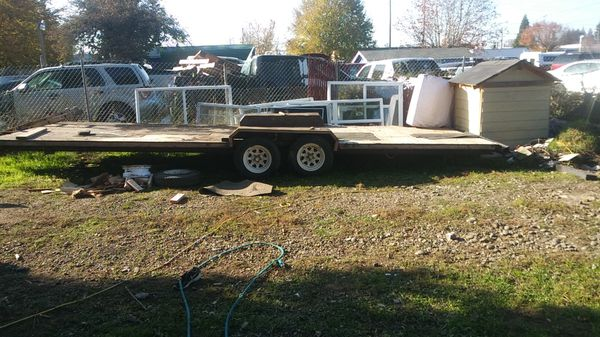 28 ft Toy Hauler Trailer for your quads