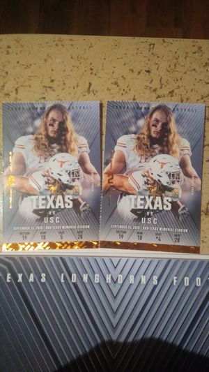 Longhorn vs USC tickets for Sale in Victoria, TX