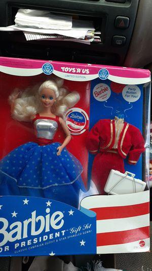 Barbie FOR PRESIDENT Nrfb for Sale in Pompano Beach, FL