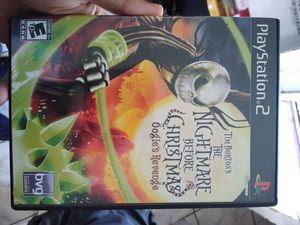 Ps2 the nightmare before Christmas oogies revenge for Sale in East Los Angeles, CA