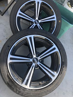 Wheels Sport 18 Tires included 235/45/18 for Sale in Orlando, FL