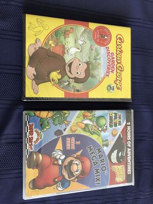 Curious George and Mario Mega Mix for Sale in Oaklandon, IN