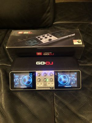 Monster GO DJ portable mixer with case and 64gb SD for Sale in Escondido, CA