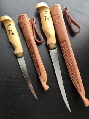 """6"""" & 4"""" J. Marttiini of Finland Fish Filet knives for Sale in Cave Creek, AZ"""