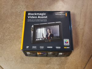 Blackmagic Video Assist Monitor for Sale in Fort Lauderdale, FL
