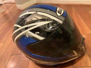 Bilt Motorcycle Helmet Size Medium Blue for Sale in Orange, CA