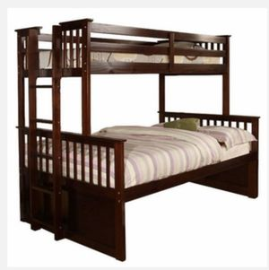 Bunk bed Twin XL over Queen for Sale in Irvine, CA