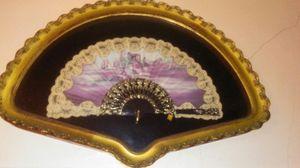 Beautiful Vintage Antique Handmade Fan for Sale in Miami, FL