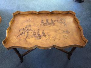 Vintage Asian tray table for Sale in El Cajon, CA