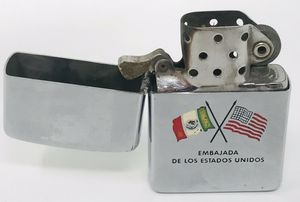 '59 Zippo Lighter, United States Embassy, Embajada Estados Unidos Mexico for Sale in Palos Hills, IL