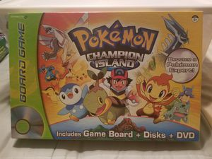 Pokemon Champion Island (game board, discs and dvd) for Sale in Pittsburgh, PA