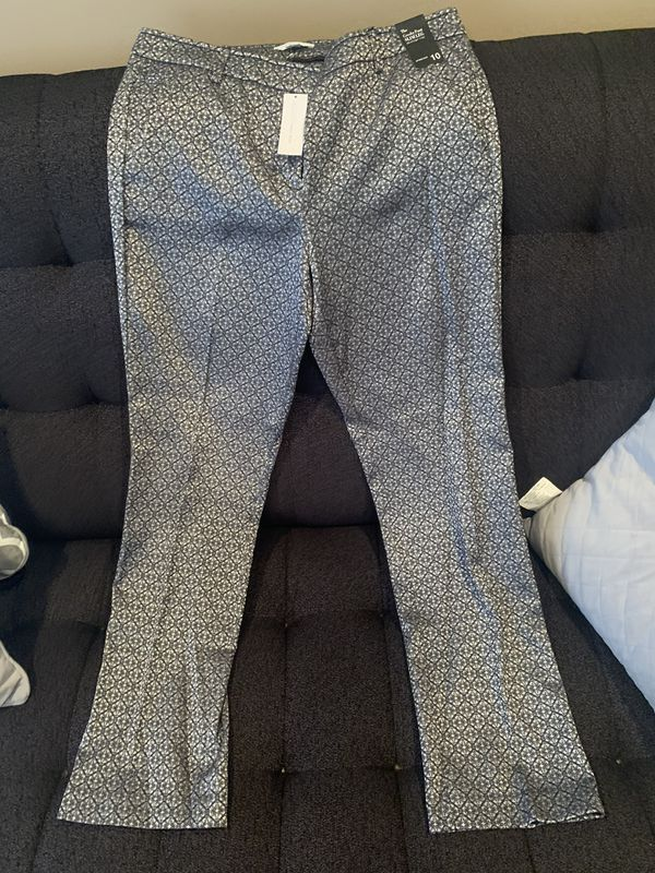 New York and Company gray and black dress pants