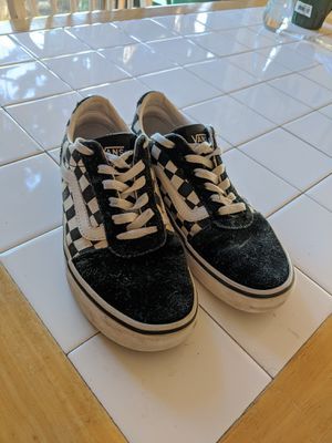 Classic Lace Up Checkered Vans for Sale in Pinole, CA