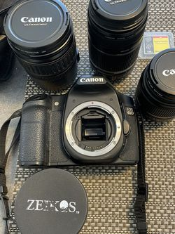 Canon EOS 40D SLR w/Lenses, Bag, Monopod,etc for Sale in Los Angeles,  CA