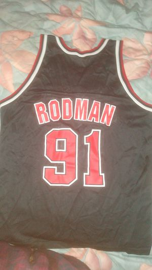 Champion bulls jersey xl #RODMAN for Sale in Murfreesboro, TN
