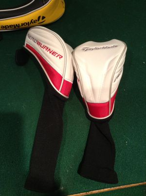 BRAND NEW TAYLOR MADE GOLF SETS FOR VERY CHEAP $25 for 2 Covers for Sale in Midlothian, IL