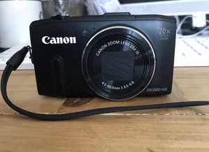 Canon camera for Sale in San Angelo, TX