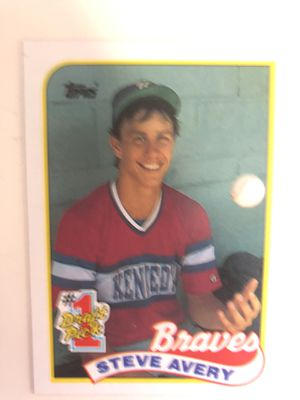 Steve Avery Rookie Card 1989 Topps for Sale in Atlanta, GA