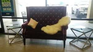 Purple love seat for Sale in Las Vegas, NV