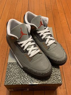 Air Jordan 3 Cool Grey size 10 new for Sale in Revere,  MA