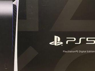 PlayStation 5 Digital Version Brand New In Hand for Sale in Atlanta,  GA