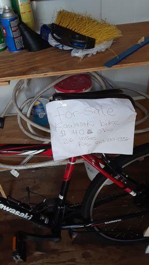 Se vende bicicleta Kawasaki size 26 for Sale in Avon Park, FL