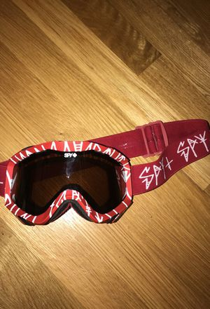 Red SPY Snowboard or ski goggles for Sale in Washington, DC