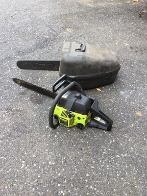 Chainsaw and Case for Sale in Concord, MA