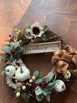 Made to order fall wreath for Sale in Martinsburg, WV