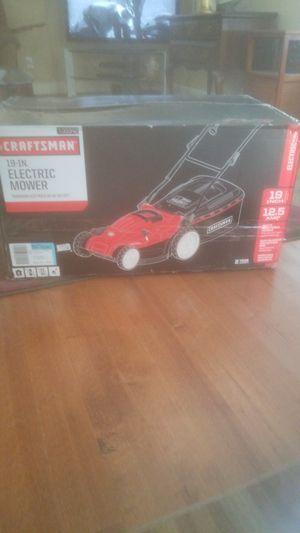 Electric lawnmower new for Sale in Roanoke, VA