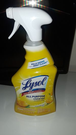 Lysol spray available for Sale in Los Angeles, CA