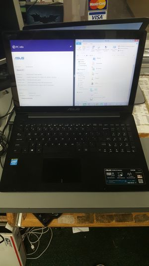 Asus touchscreen intel quad core 4gb 500gb hdd laptop notebook computer for Sale in Baltimore, MD