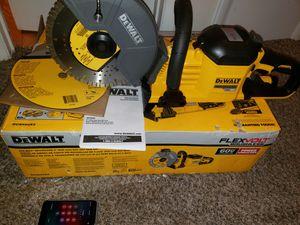 !!!!Tool Only!!!!Dewalt Concrete Saw Flexvolt New for Sale in Germantown, MD