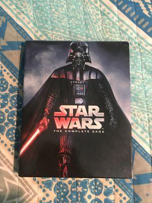Star Wars 9 Disc Set Complete Saga for Sale in Boynton Beach, FL