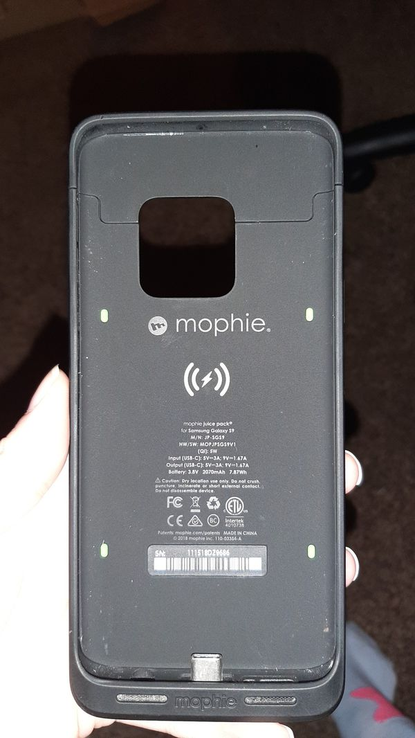 Mophie juice pack for Samsung S9