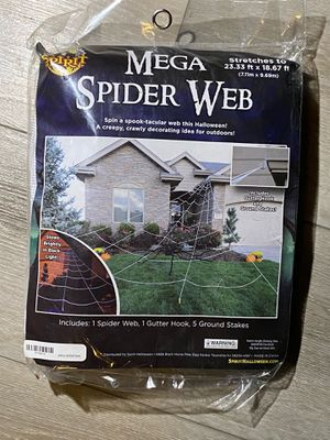 Spider Web 🕸 Decoration for Halloween for Sale in San Francisco, CA