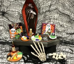 Halloween Mini Creepy Food set for Barbie and other Doll for Sale in San Diego, CA