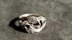 Vintage Double Heron Infinity 925 Ring Sz 7 rare 11mm widest point Beautiful for Sale in East Providence, RI