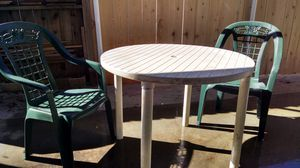 Patio Table and Two Chairs for Sale in Lakeside, CA