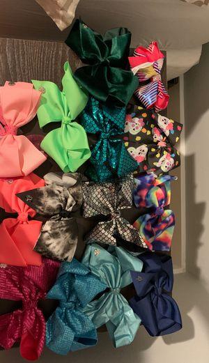 Jojo siwa bows for Sale in Hialeah, FL
