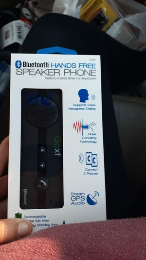 Bluetooth hands free speaker phone for Sale in Loma Linda, MO