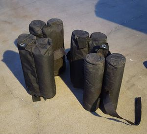 Canopy tent weight bags for Sale in Lumberton, TX