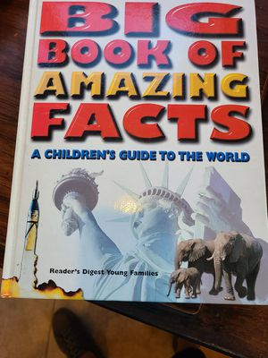 Reader's Digest Big Book of Amazing Facts for Sale in Harriman, TN