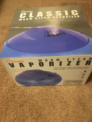 NEW Crane warm steam vaporizer/humidifier for Sale in Seattle, WA