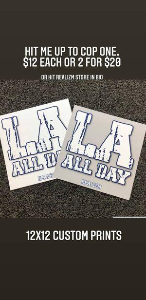 LA All Day (Dodgers Prints/Poster) for Sale in Los Nietos, CA